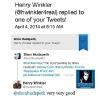 "HENRY WINKLER ""THE FONZ"" TWEETED HIS APPROVAL OF MY PAINTING OF HIM"