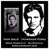 "'HAN SOLO "" - (HARRISON FORD) ~ WITH HIS NEW OWNER"