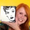 """I LOVE LUCY"" ~ WITH HER BIGGEST FAN"