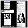 "ACTRESS MAUREEN MCCORMICK (THE BRADY BUNCH)  FACEBOOK RESPONSE TO PAINTING OF HER ""MARCIA BRADY"" CHARACTER"