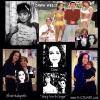 "DAWN WELLS 'MARY ANN' / ""GILLIGAN'S ISLAND"" WITH HER PAINTINGS"