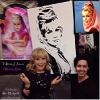 "BARBARA EDEN RECEIVING HER ""I DREAM OF JEANNIE"" PAINTING"