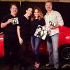 "TOM WOPAT, CATHERINE BACH AND JOHN SCHNEIDER ""THE DUKES OF HAZZARD"" ~ WITH THEIR PAINTINGS"