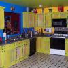 HAND PAINTED KITCHEN CABINETS ~ NASHVILLE, TN