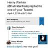 "HENRY WINKLER ( ""THE FONZ"" OF HAPPY DAYS) TWEETED ABOUT MY PAINTING OF HIM"