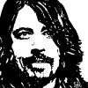 """DAVE GROHL"" (NIRVANA / FOO FIGHTERS) ~ SOLD"