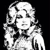 """DOLLY PARTON - BLACK"" SOLD"