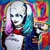 """HARLEY QUINN - MARGOT ROBBIE"" ~ SOLD"